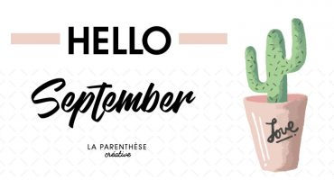 Bullet journal free printable septembre 2017