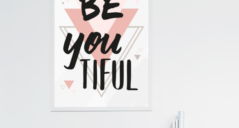 be-you-tiful tableau printable gratuit