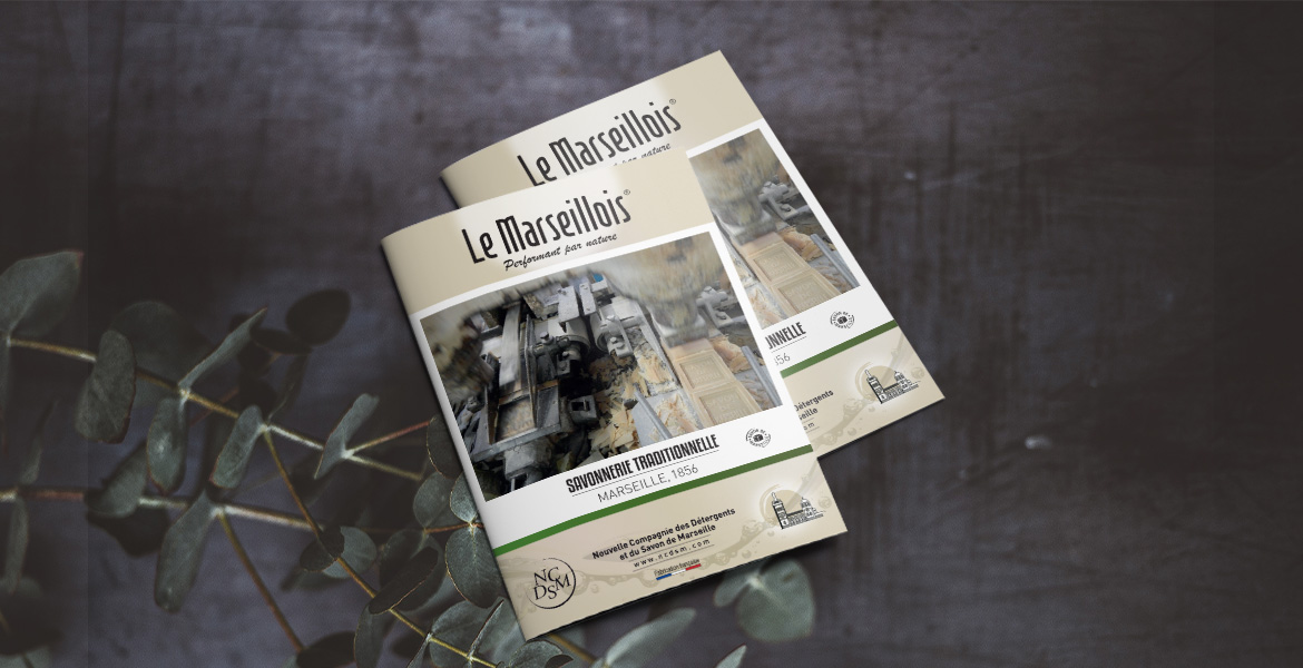 creation brochure commerciale Le Marseillois